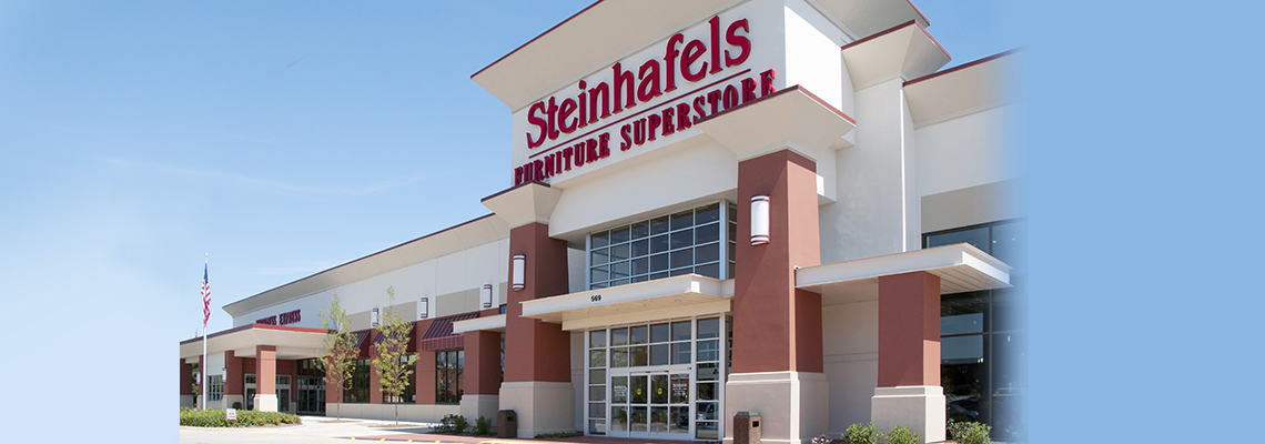 Steinhafels enters Illinois with a 101,000 square foot superstore located at 569 North Milwaukee Avenue in Vernon Hills.