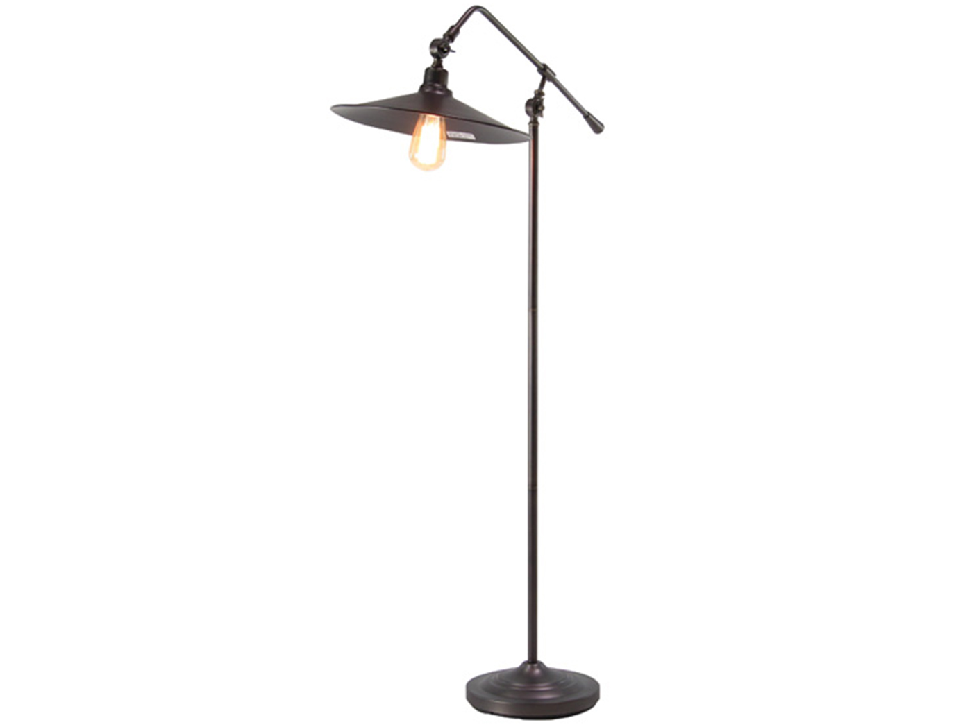 "Metal Industrial Floor Lamp 48""H"