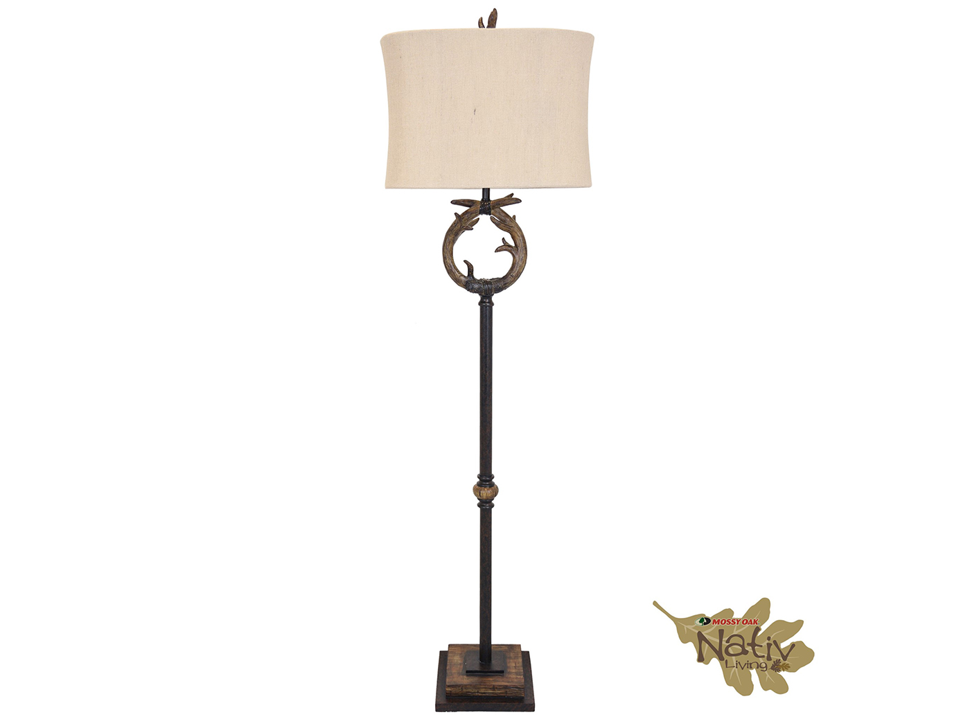"Antler Floor Lamp 65.5""H"