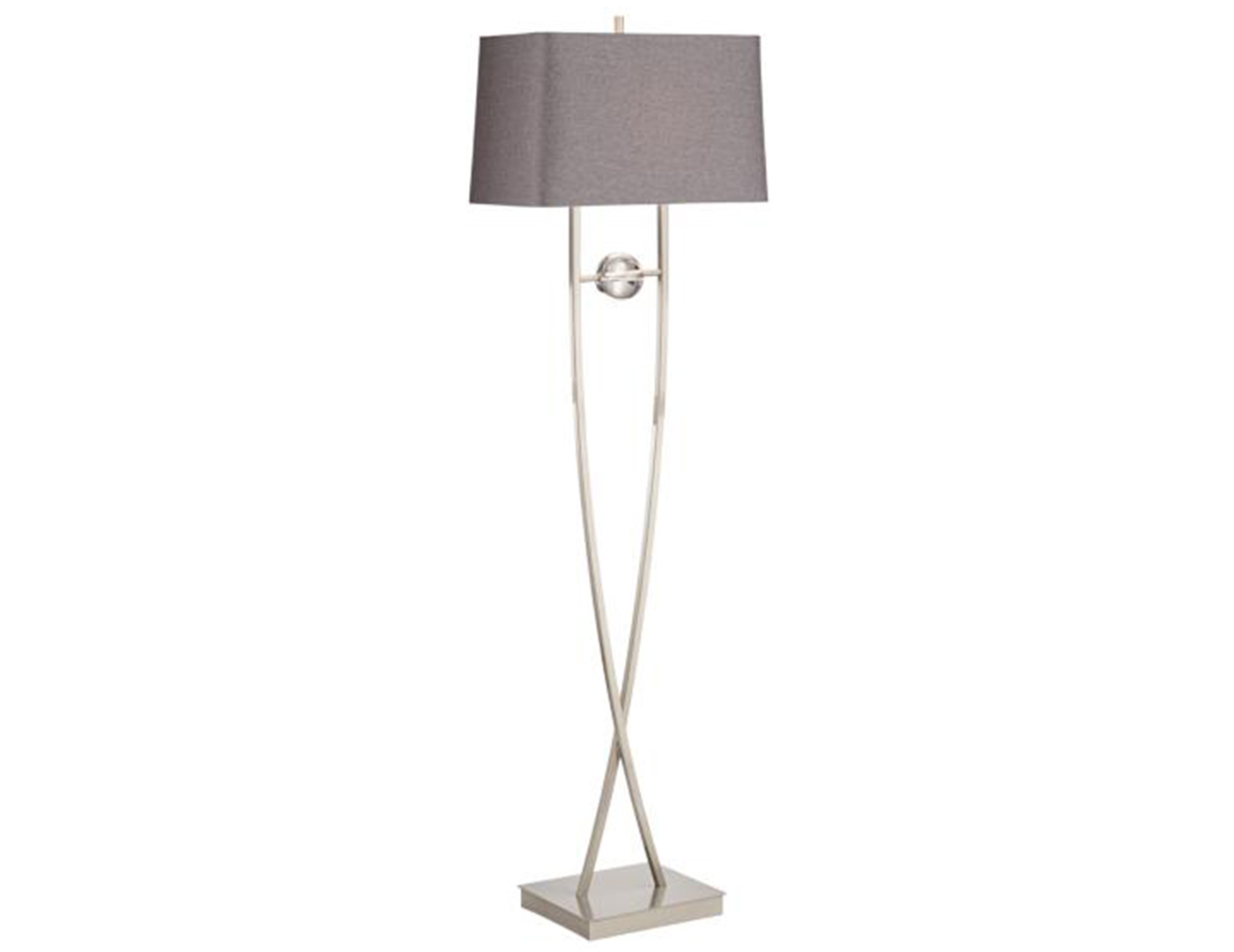 "Wishbone Floor Lamp 65""H"