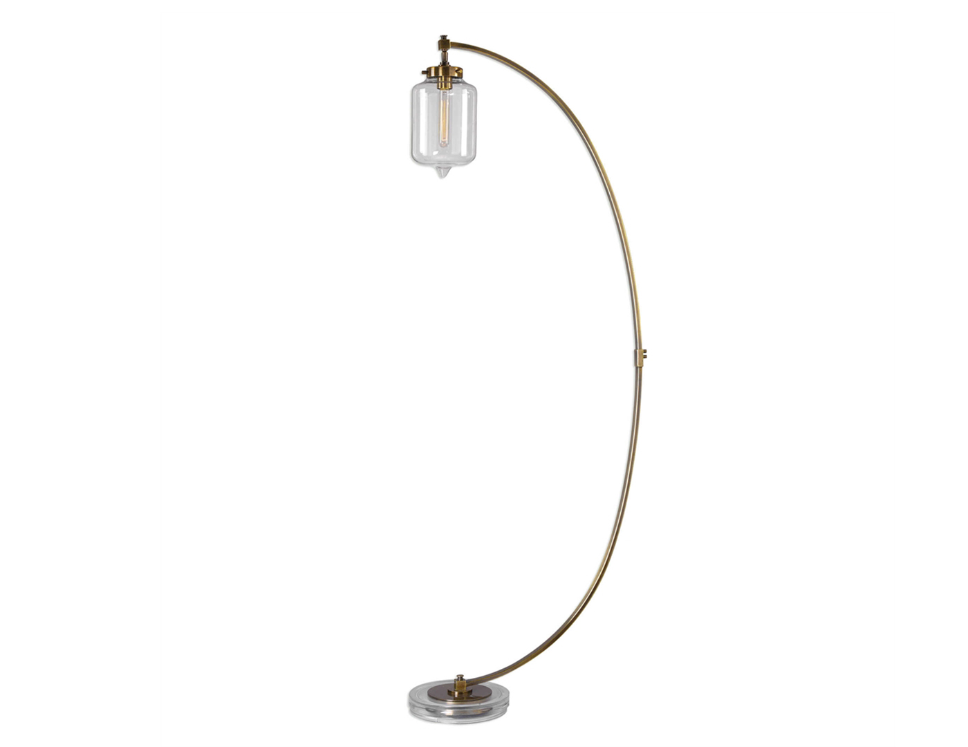 "Arc Floor Lamp 73""H"