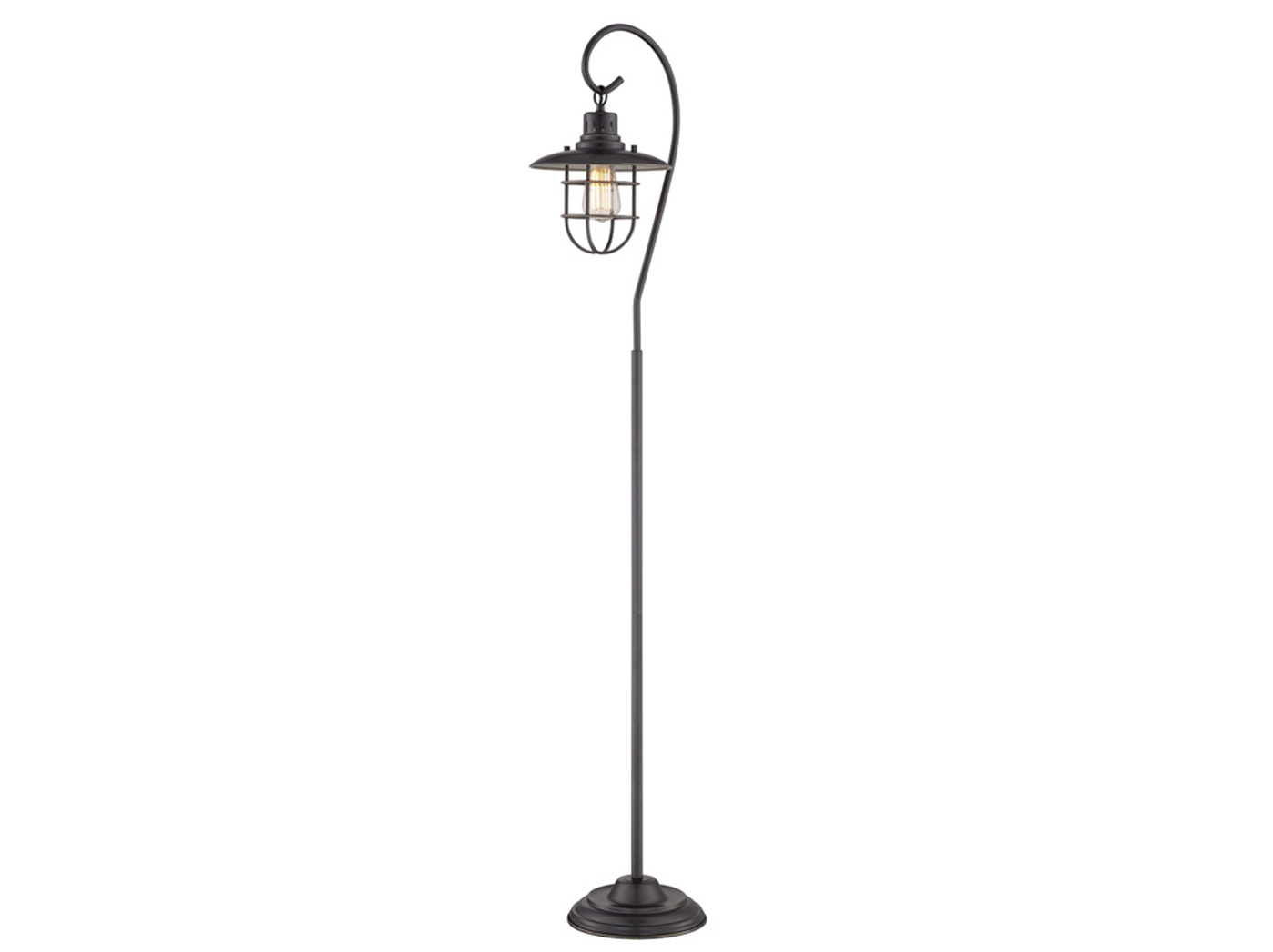 "Bronze Lanterna II Floor Lamp 58.5""H with Bulb"