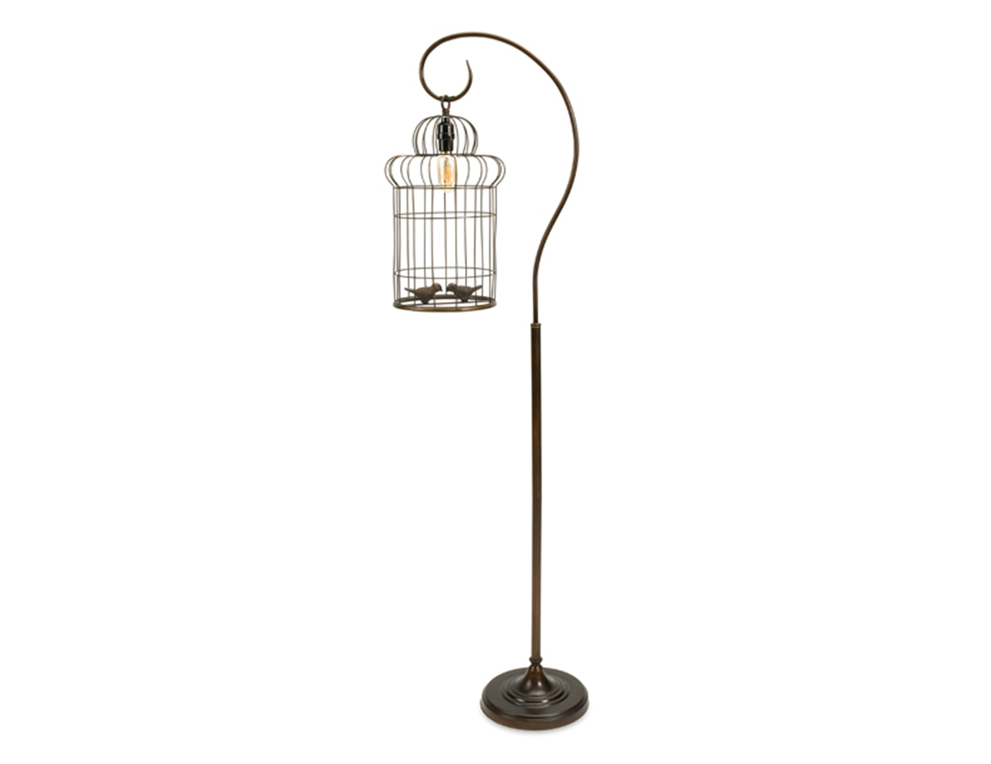 "Birdcage Floor Lamp 61""H"