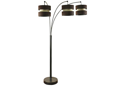 "Madison Bronze Arch Floor Lamp 75""H"