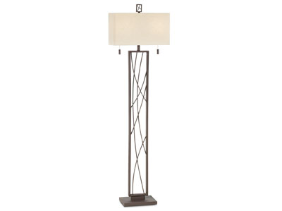 "Criscross Floor Lamp 64""H"