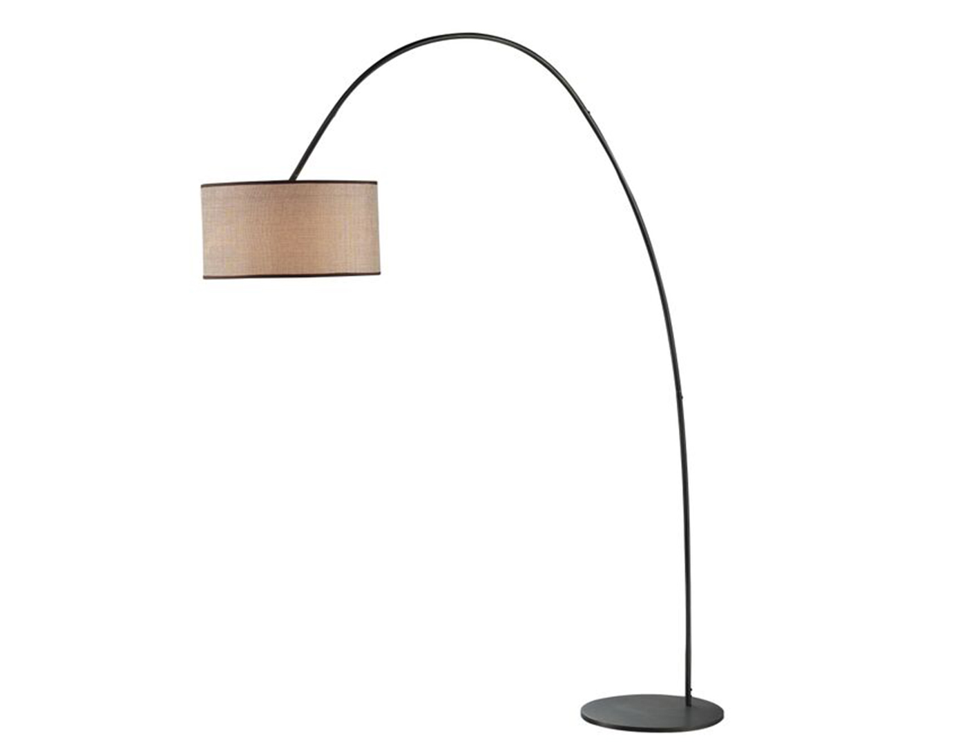 Bronze Arc Floor Lamp