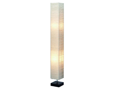 "Paper Shade Floor Lamp 48""H"