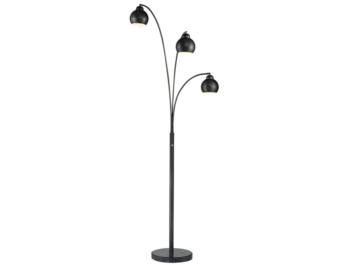 "Tri-Light Bronze Floor Lamp 83""H"