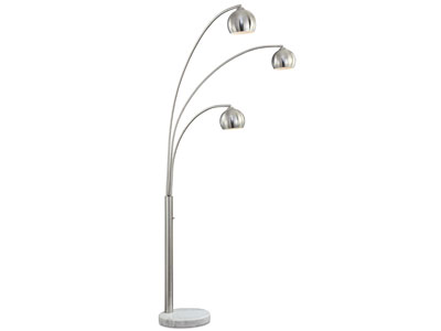"Crosstown Floor Lamp 83""H"
