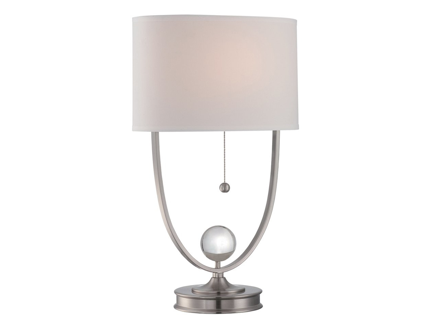 Steinhafels bling glass table lamp polished steel and crystal table lamp geotapseo Images