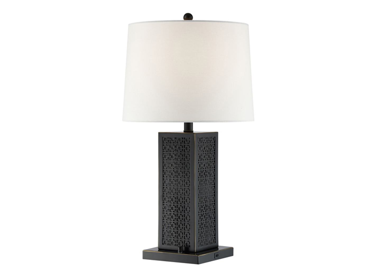 "Bluetooth Speaker/USB Table Lamp 28""H"