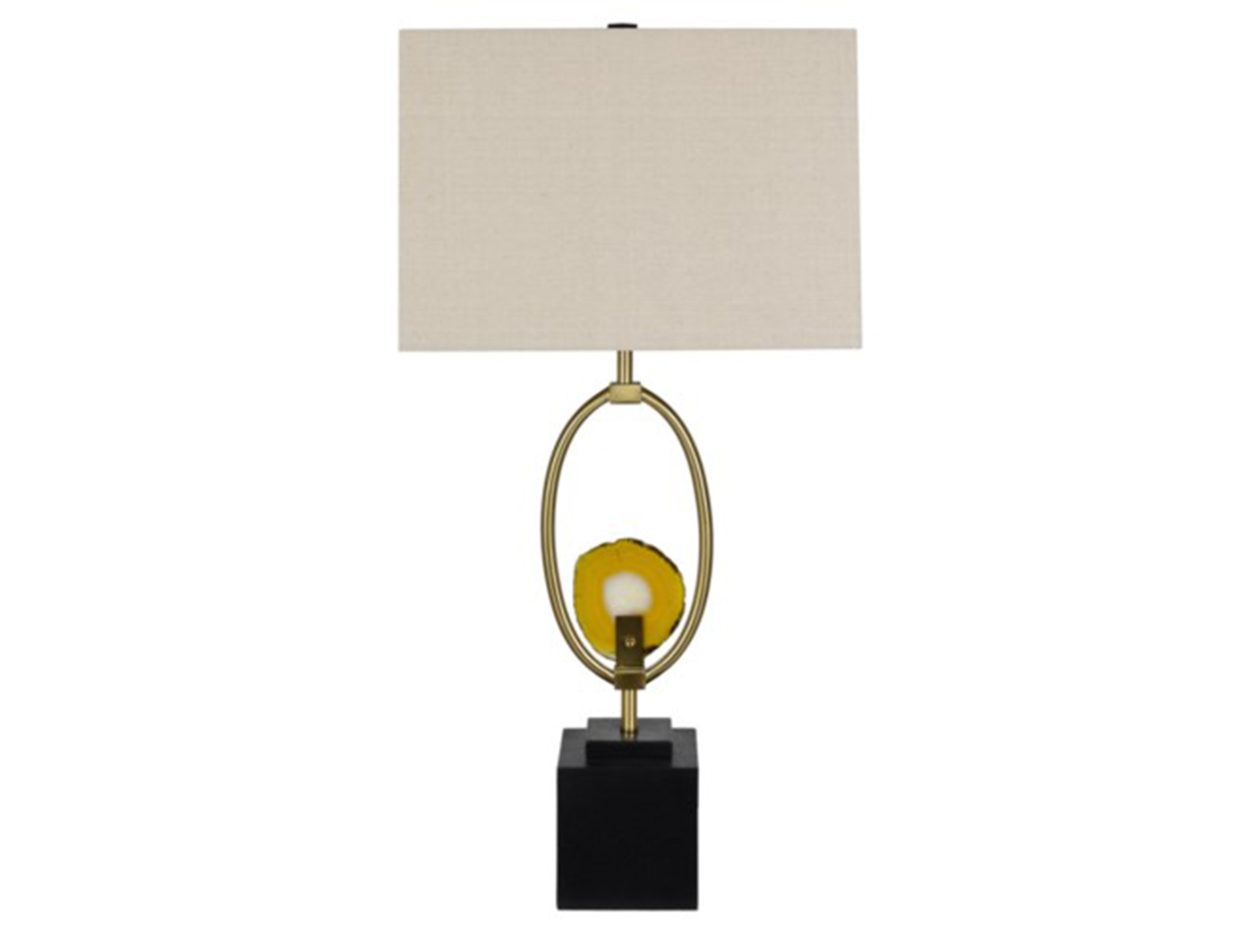 "Agate Table Lamp 32""Hd"