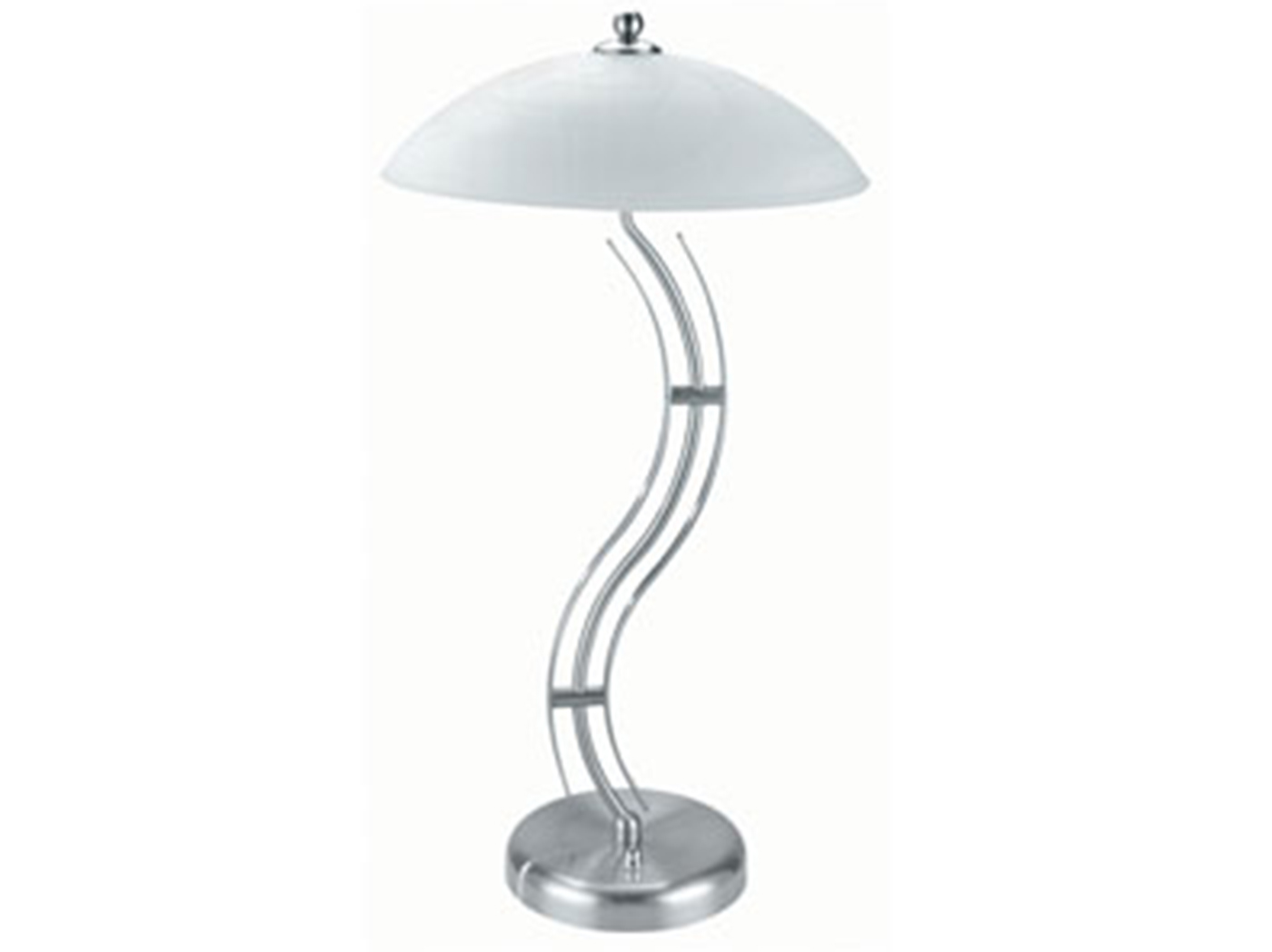 "Curvy Table Lamp 27""H"