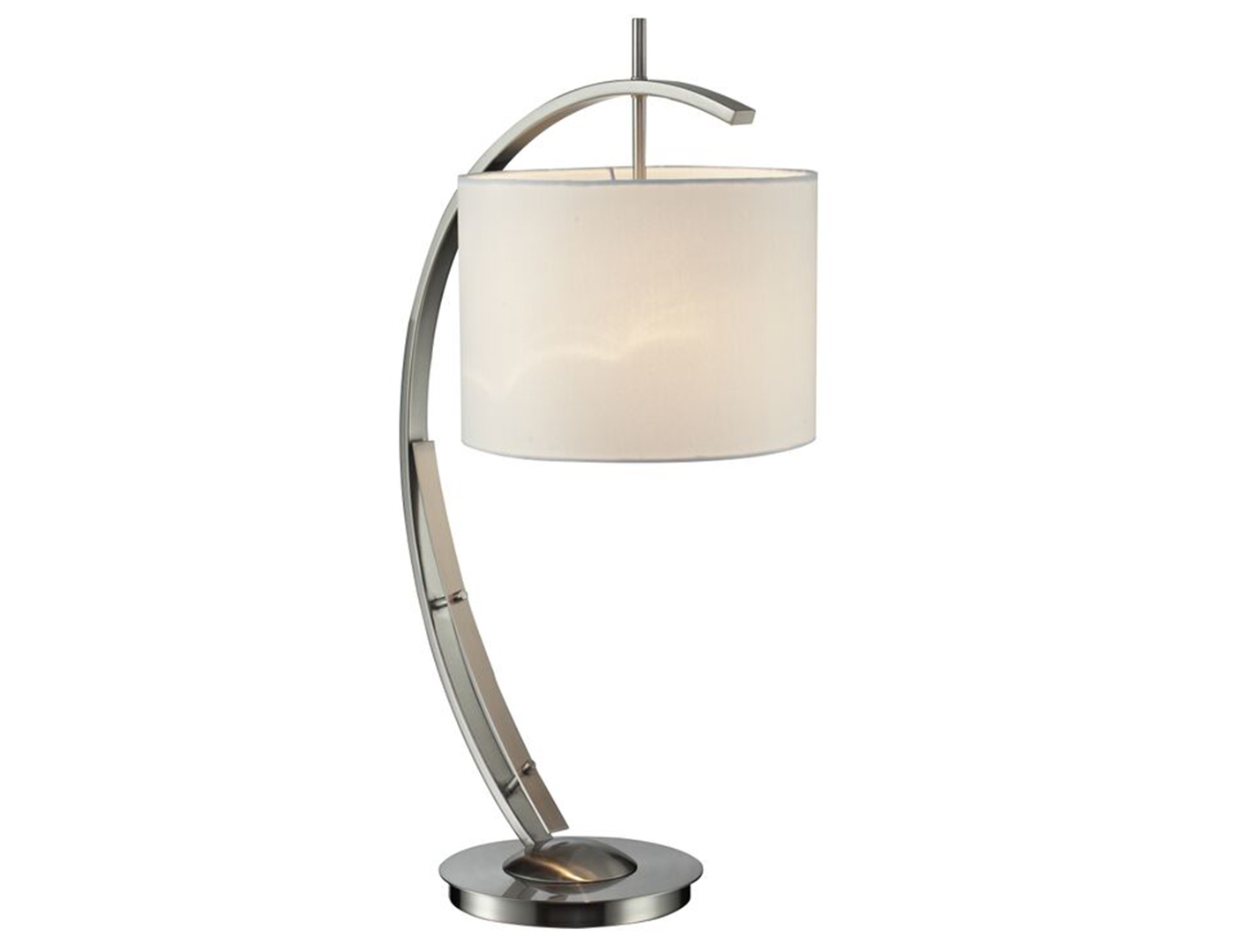 "Steel Arc Table Lamp 32""H"