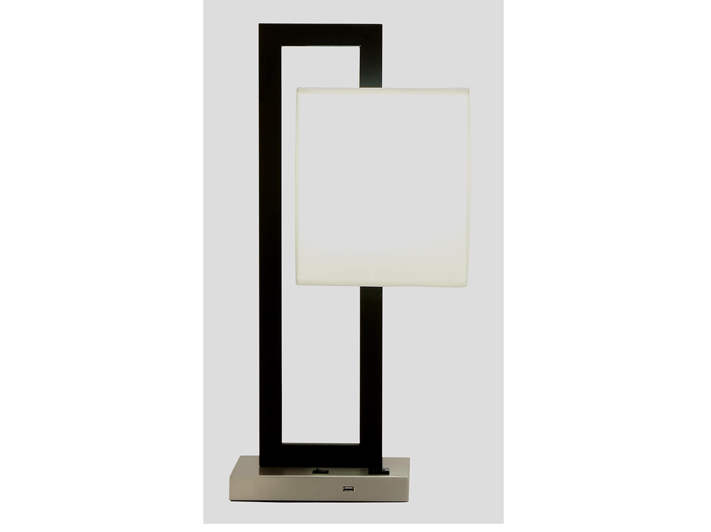 "Modern Table Lamp 24""H"