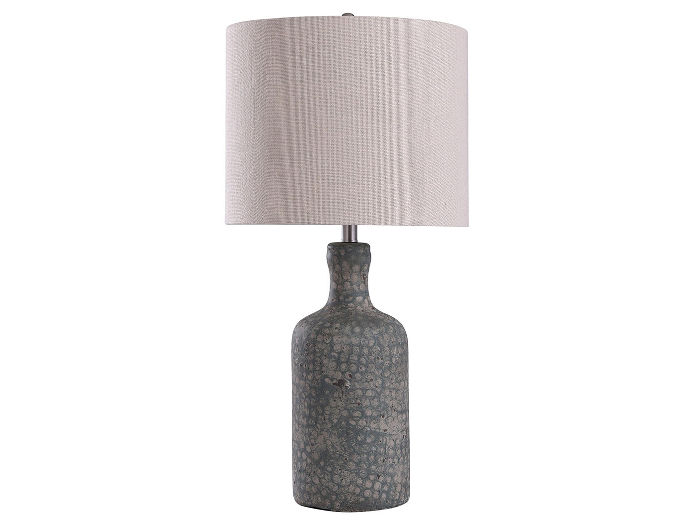 "Sage Concrete Table Lamp 30""H"