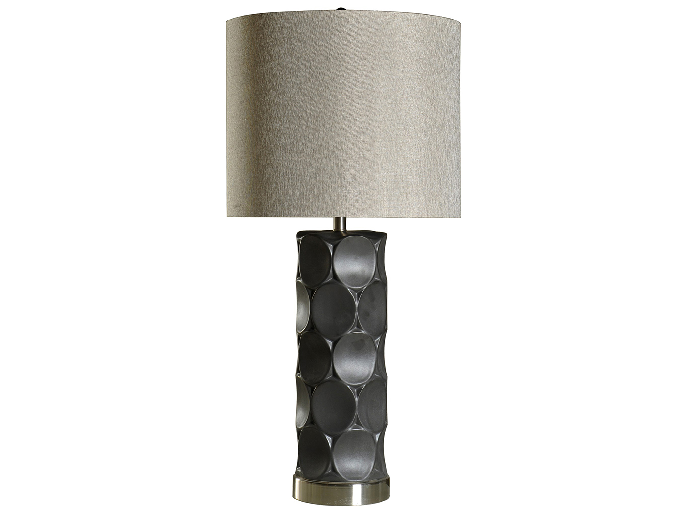 "Ceramic Circles Table Lamp 36.5""H"