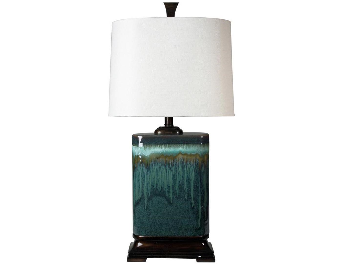 Blue Ceramic Table Lamp 32 H Steinhafels