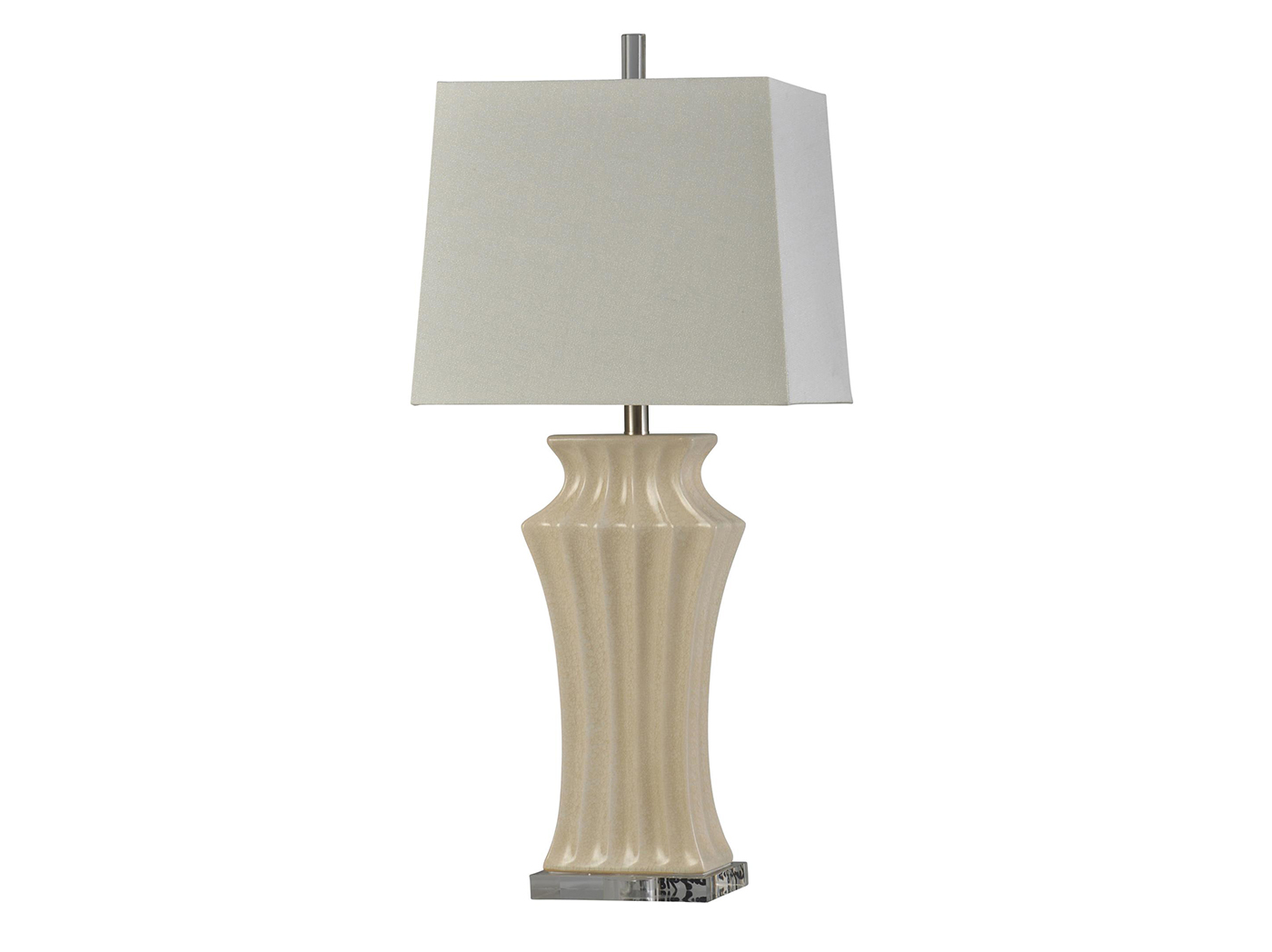 Ivory Ceramic Table Lamp Steinhafels