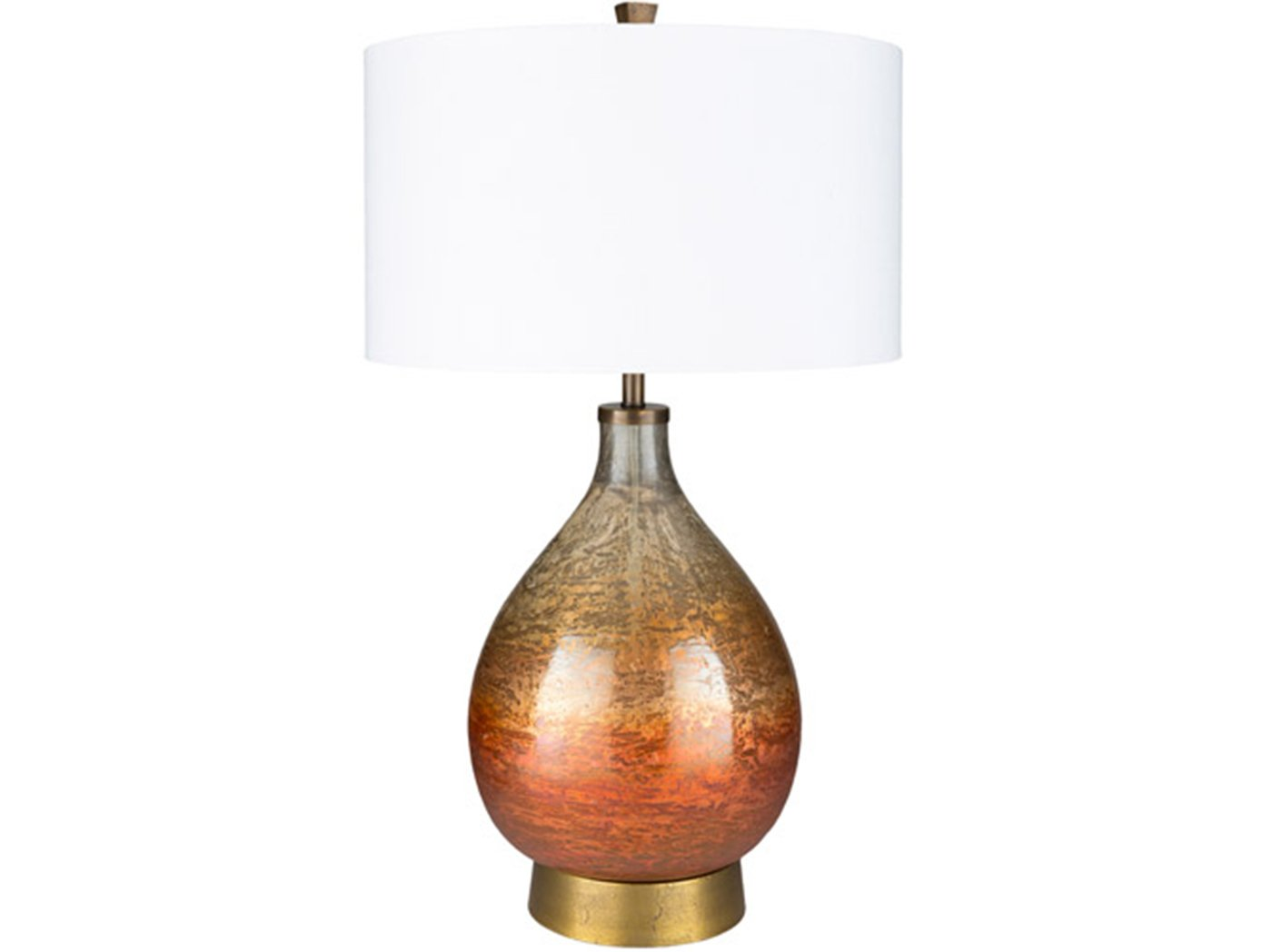 "Sunset Glass Table Lamp 30""H"