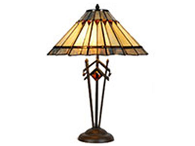 "Crestview Table Lamp 26""H"