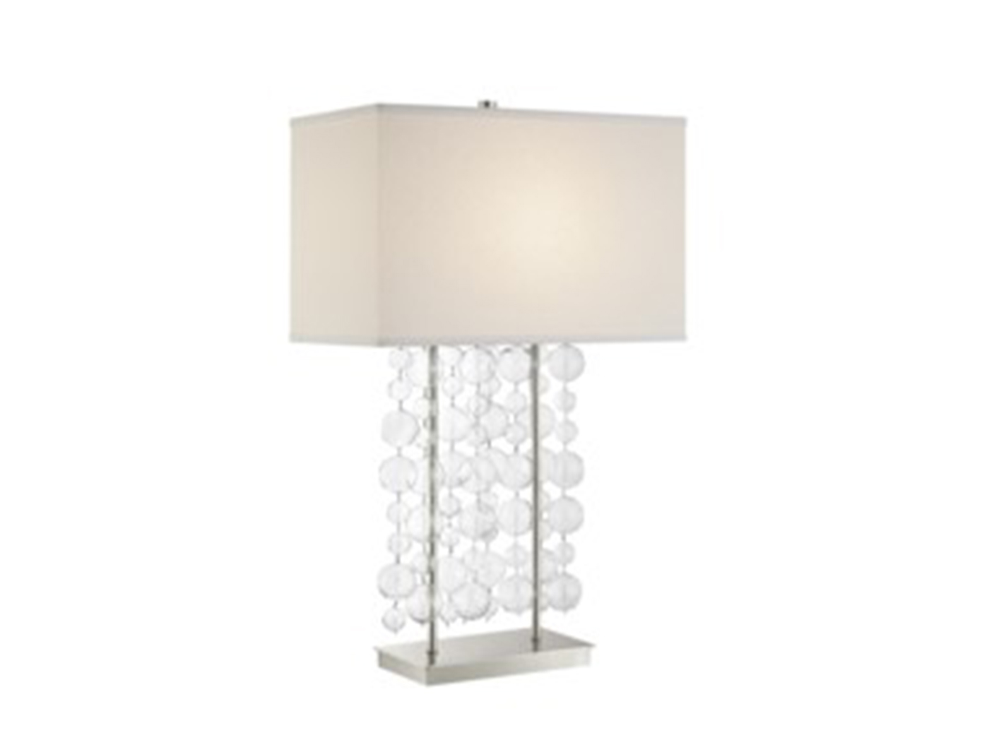 Glass bubbles table lamp 30h steinhafels glass bubbles table lamp 30h aloadofball Gallery