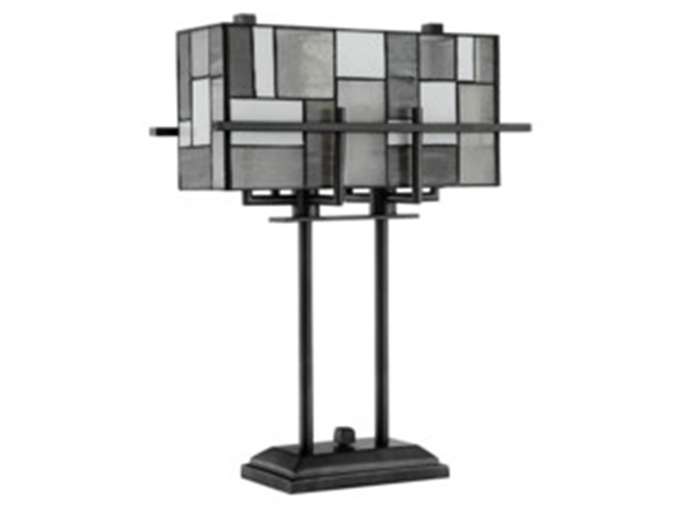 "Rectangular Shade Table Lamp 21""H"