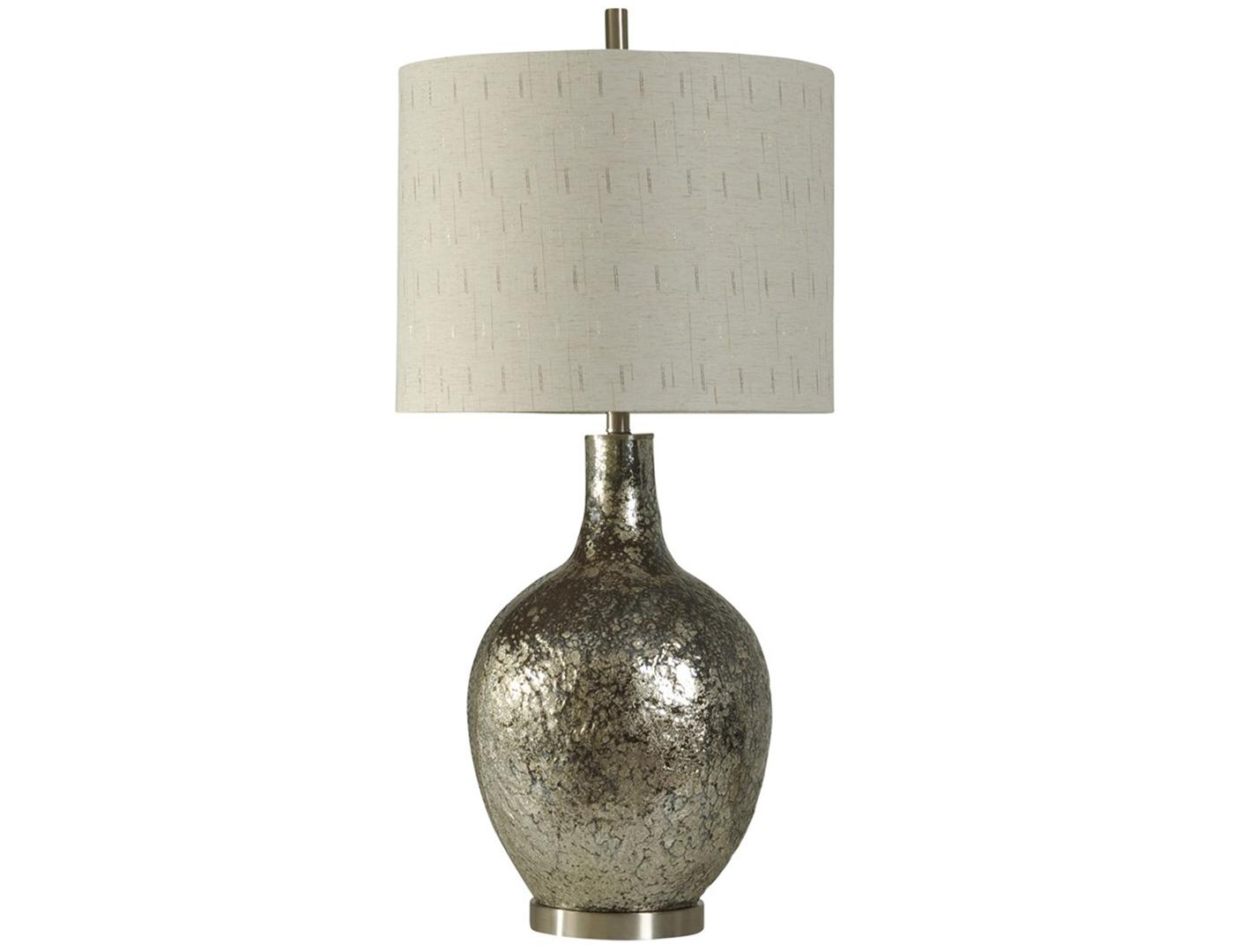 Steinhafels Rose Mercury Glass Table Lamp