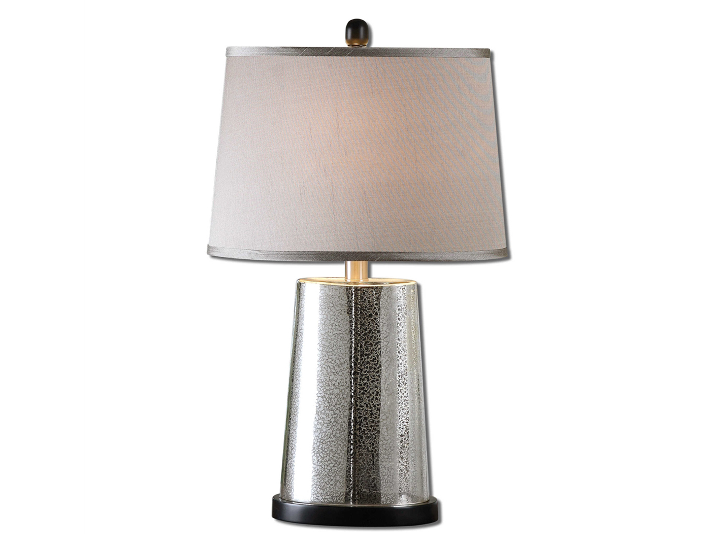 sullivan glass table contemporary silver scalloped mercury lamps lamp