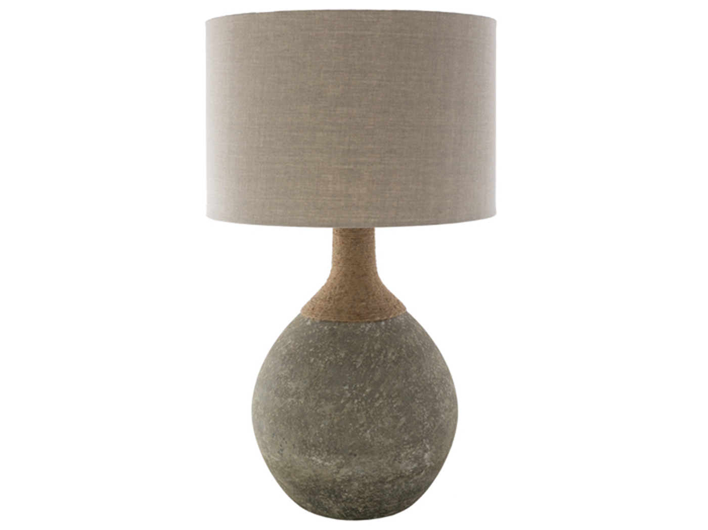 "Sage Glass Table Lamp 32""H"
