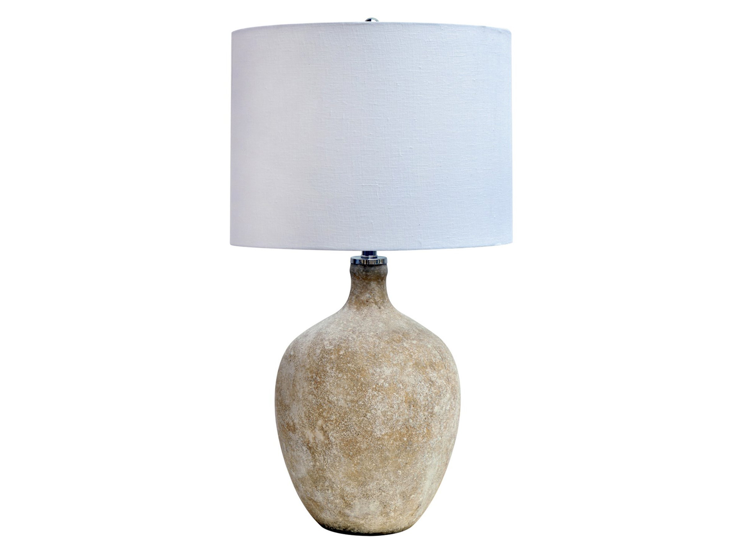 "Sand Frosted Glass Table Lamp 29""H"