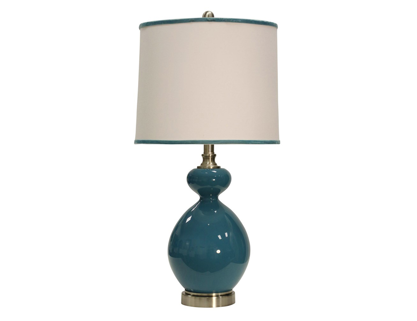 turquoise glass table lamp. Black Bedroom Furniture Sets. Home Design Ideas