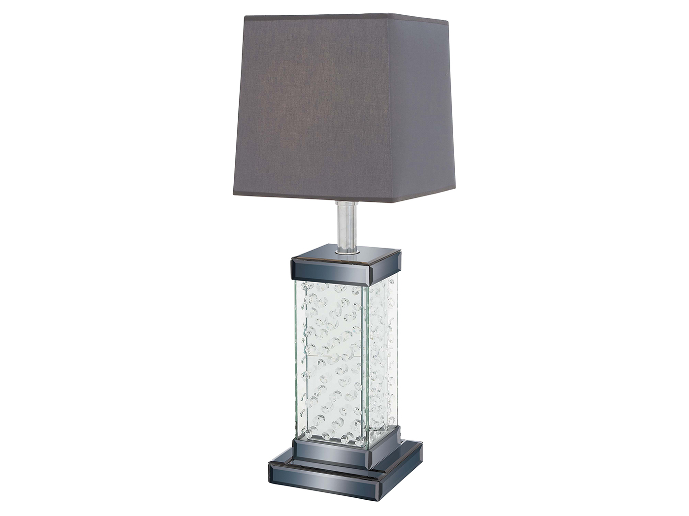 "Table Lamp With Bling Base 28""H"