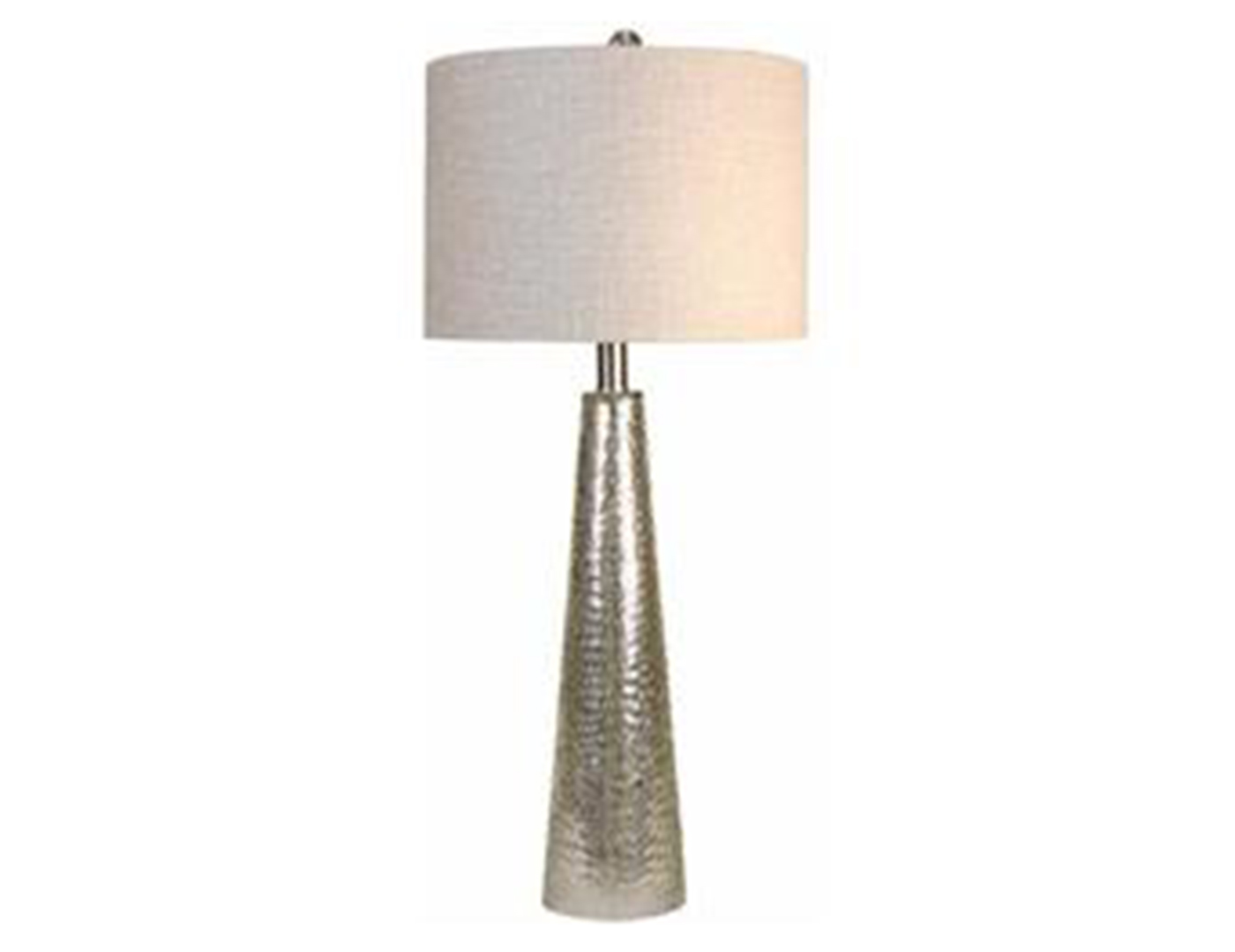 "Mercury Glass Cone Table Lamp 29""H"