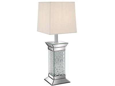 "Bling Glass Table Lamp 28""H"