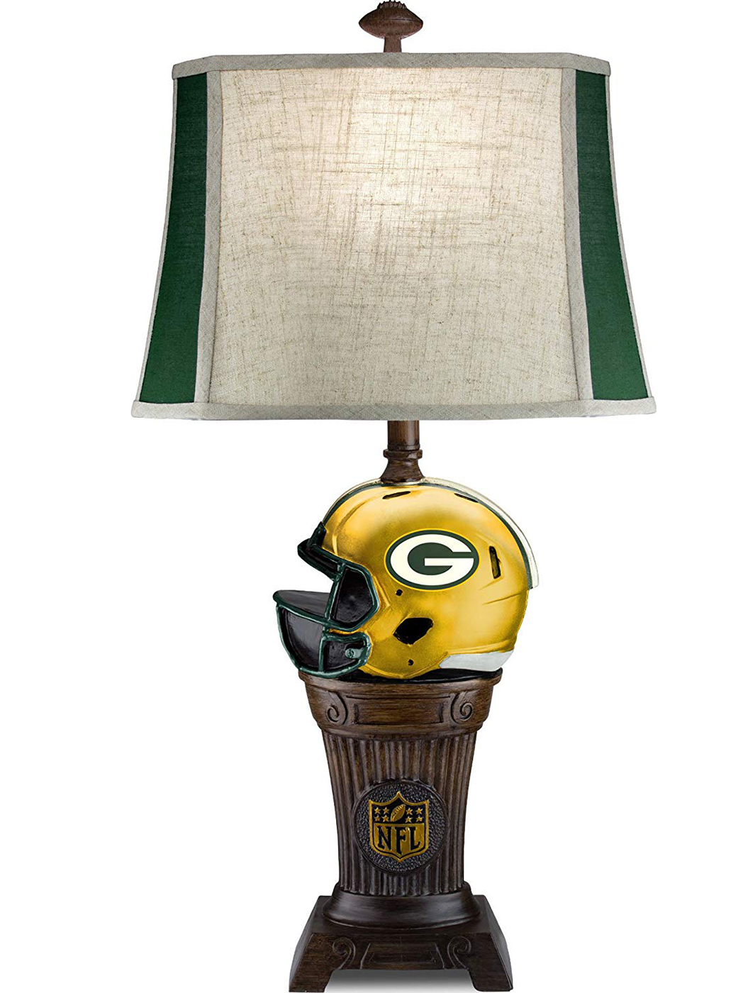 "Packers Trophy Table Lamp 32""H"