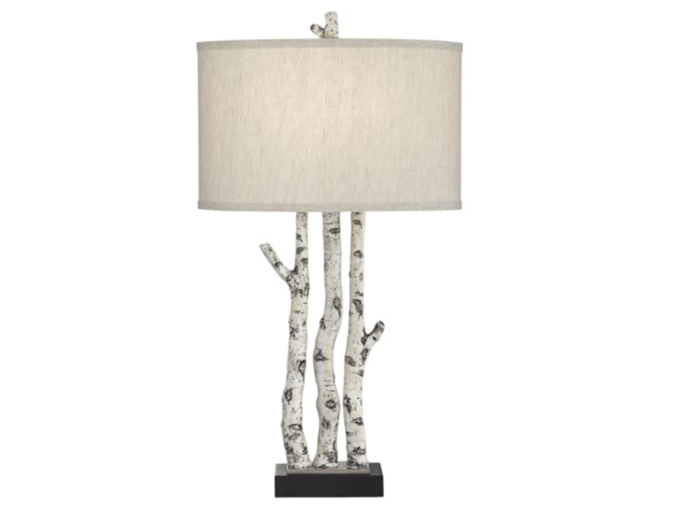 "White Branches Table Lamp 30""H"