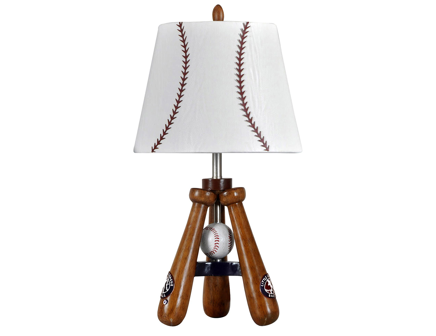 "Kids Baseball Table Lamp 25""H"