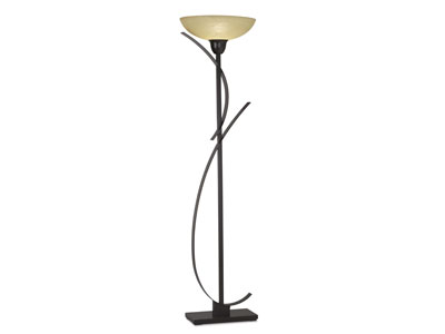 "Curves Torchiere 72""H"