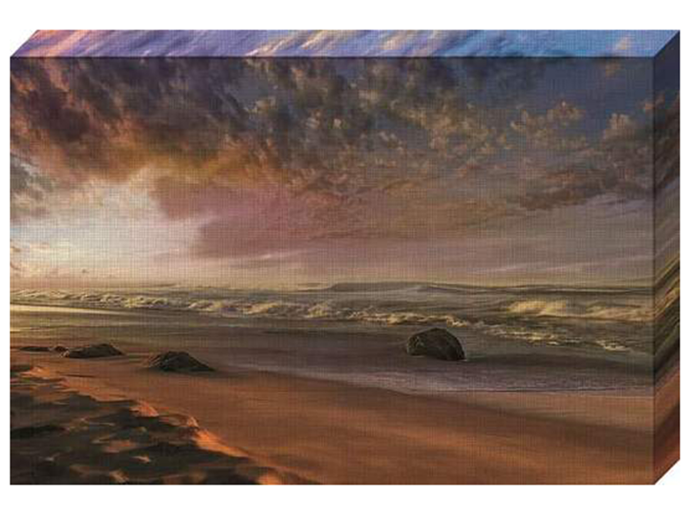 "Summer Magic Canvas Art 47""W x 30""H"