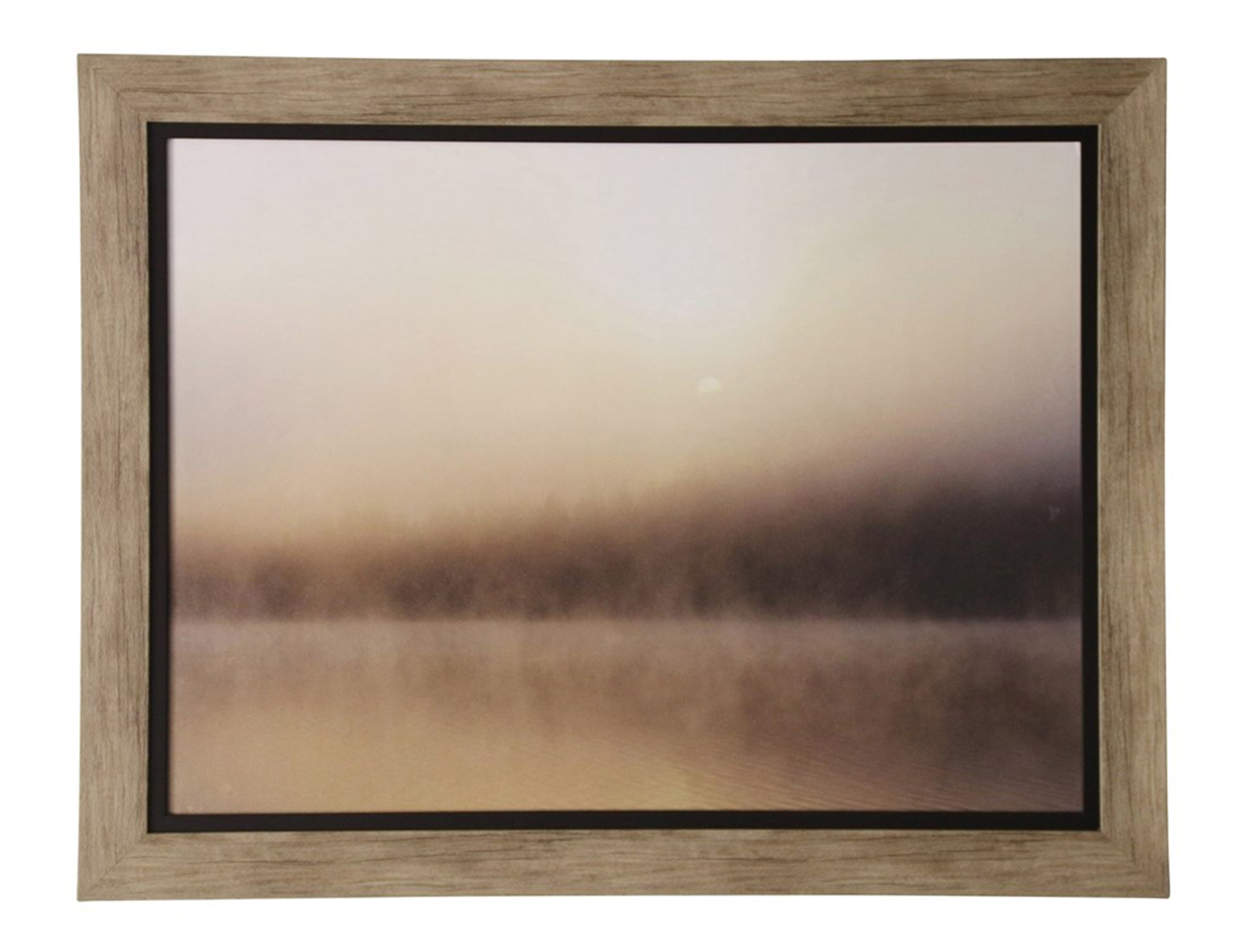 "Misty Waters Framed Print 47""W x 37""H"
