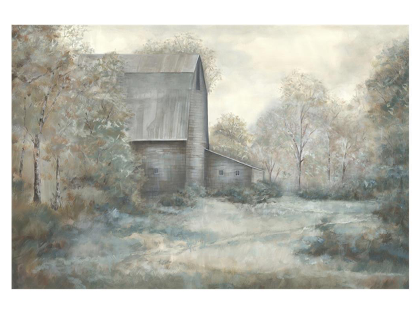 "Barn In The Counrty II Canvas Art 60""W x 40""H"