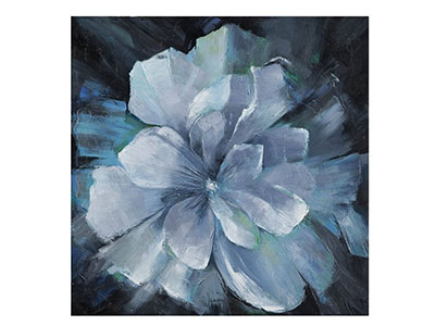 Beauty in Blue Flower Painting