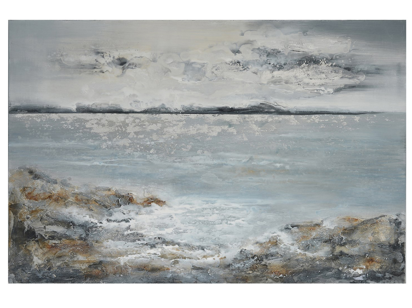 "Calm Waters Canvas Art 60""W x 40""H"