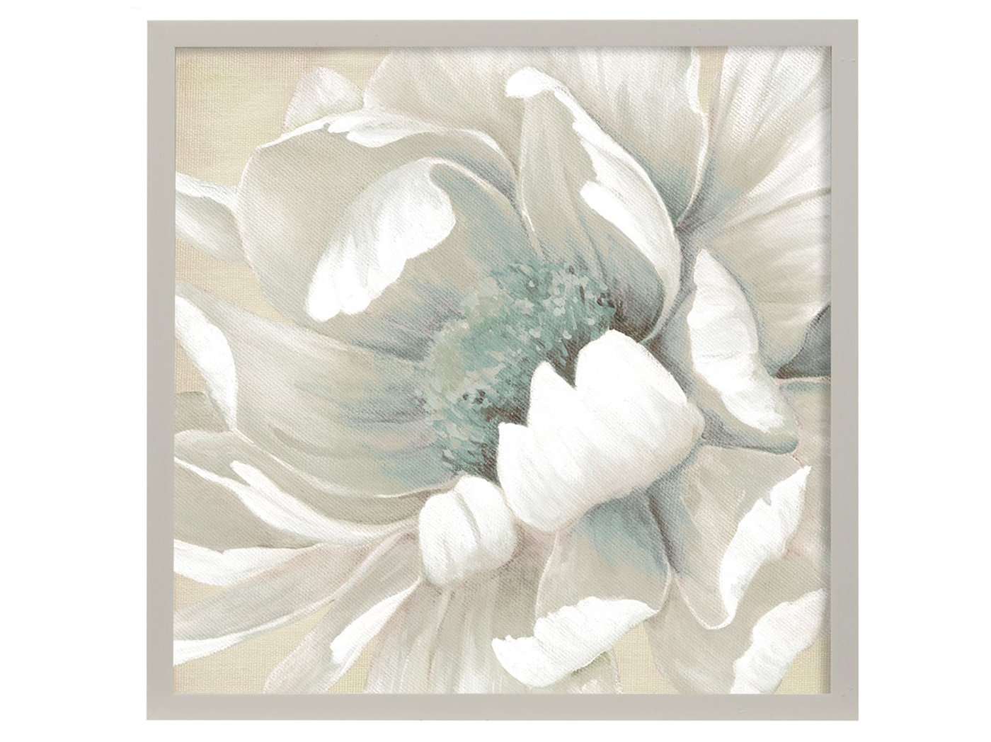 "Winter Blooms II Framed Art Under Glass 26""W x 26""H"