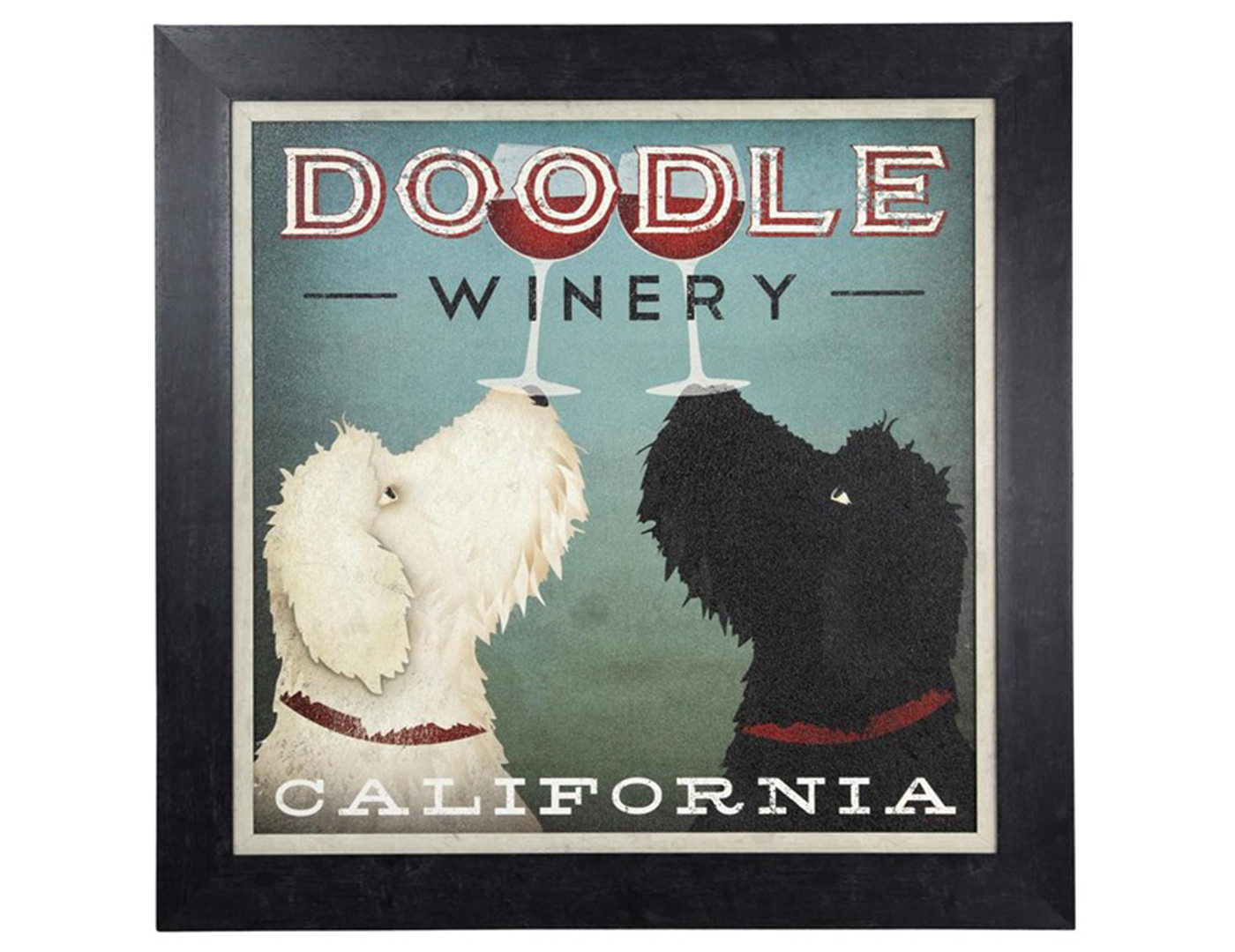 "Doodle Winery Poster Art 34""W x 34""H"