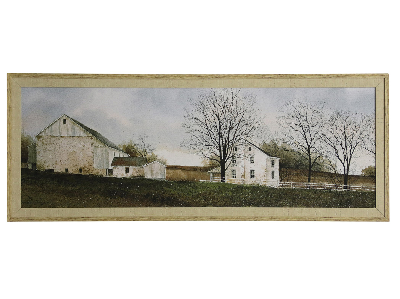 "Farmhouse Framed Print 64""W x 24""H"