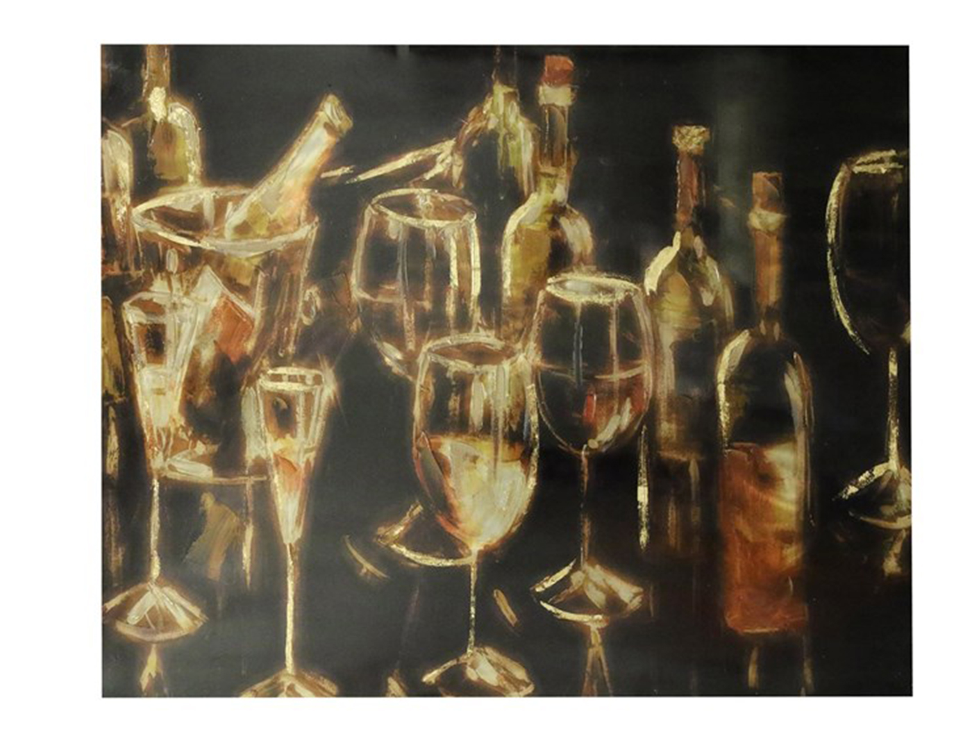 "Wine Party Canvas Print 50""W x 40""H"