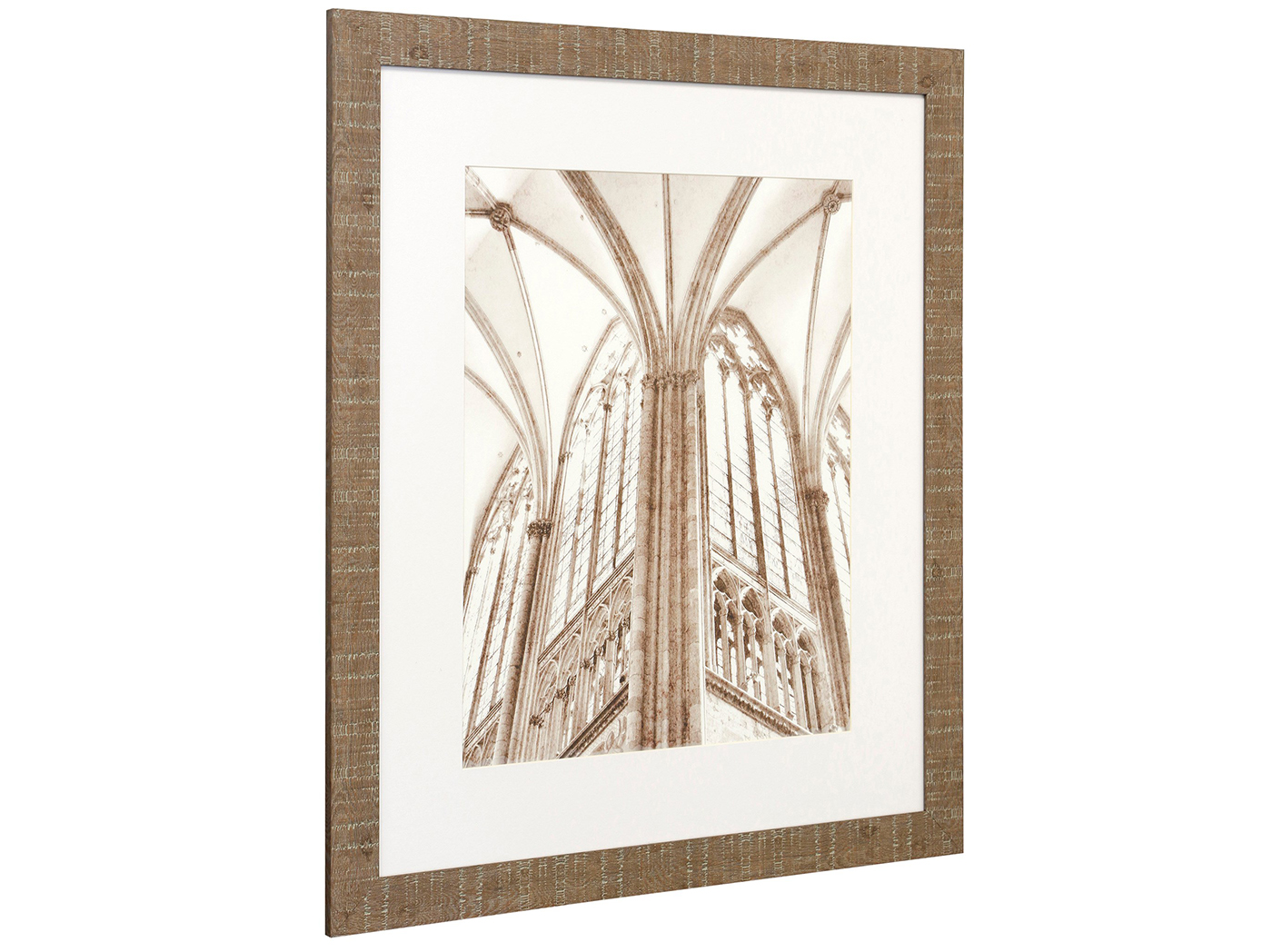 "Window Architectural Framed Print 25""W x 29""H"