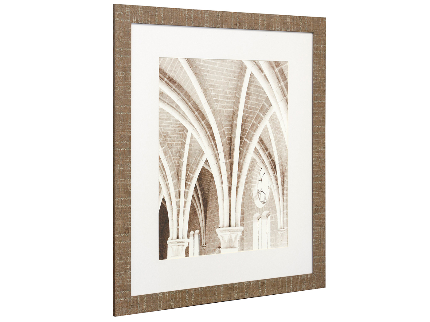 "Brick Architectural Framed Print 25""W x 29""H"